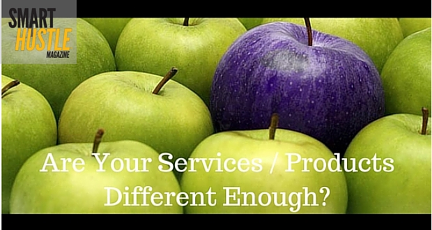 are you differentiating your services