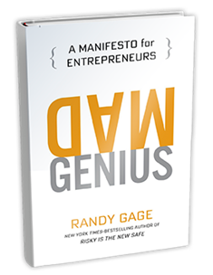 Mad Genius by Randy Gage