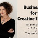 The Working Artist, Crista Cloutier, Shares Business Tips for the Creative Industries