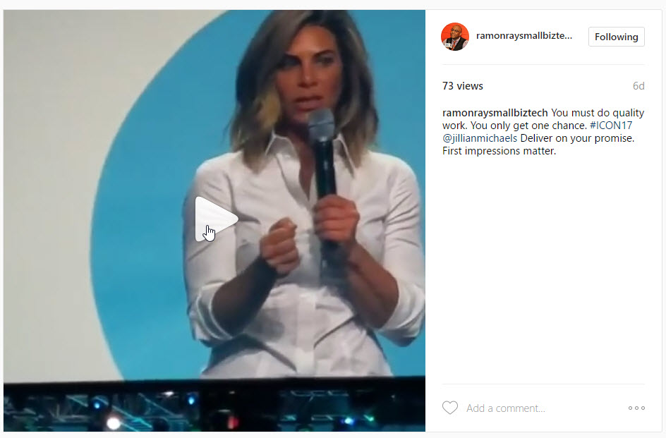 Jillian Michaels at ICON17