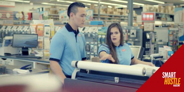 staples' commitment to small business